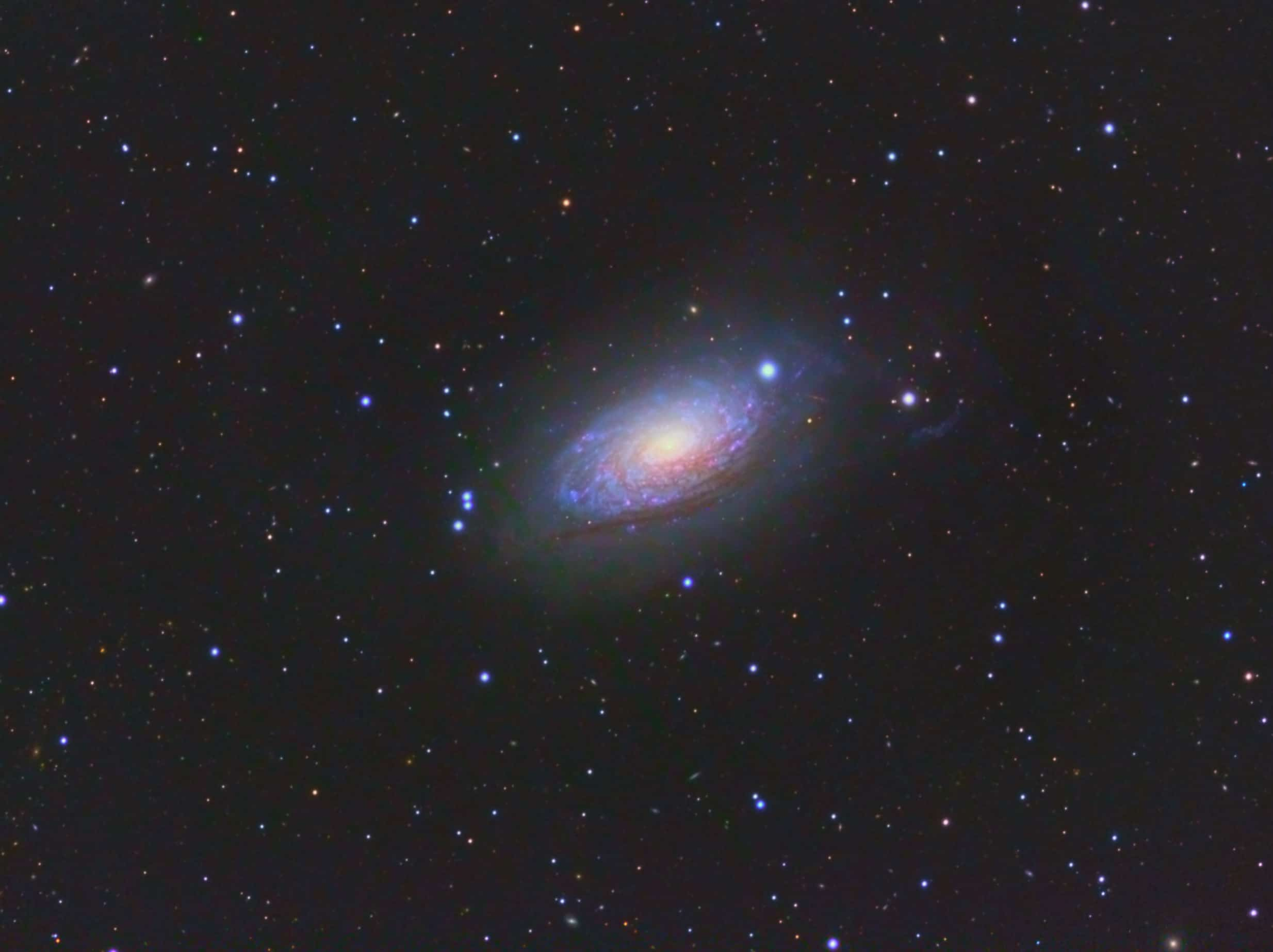 M63 The Sunflower Galaxy